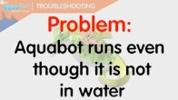 runs when out of water