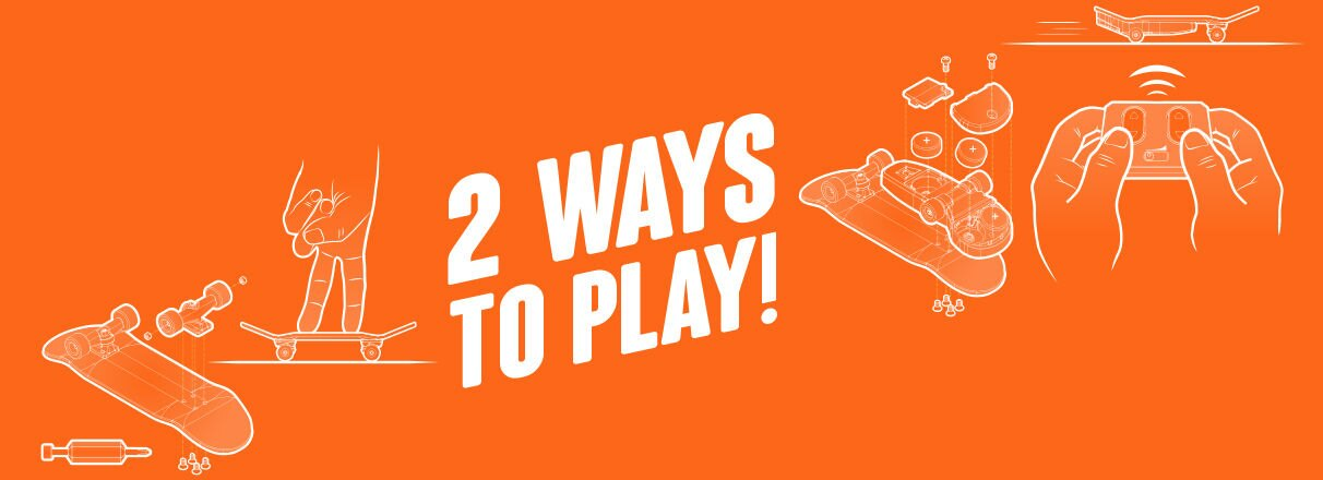 Two Ways To Play!